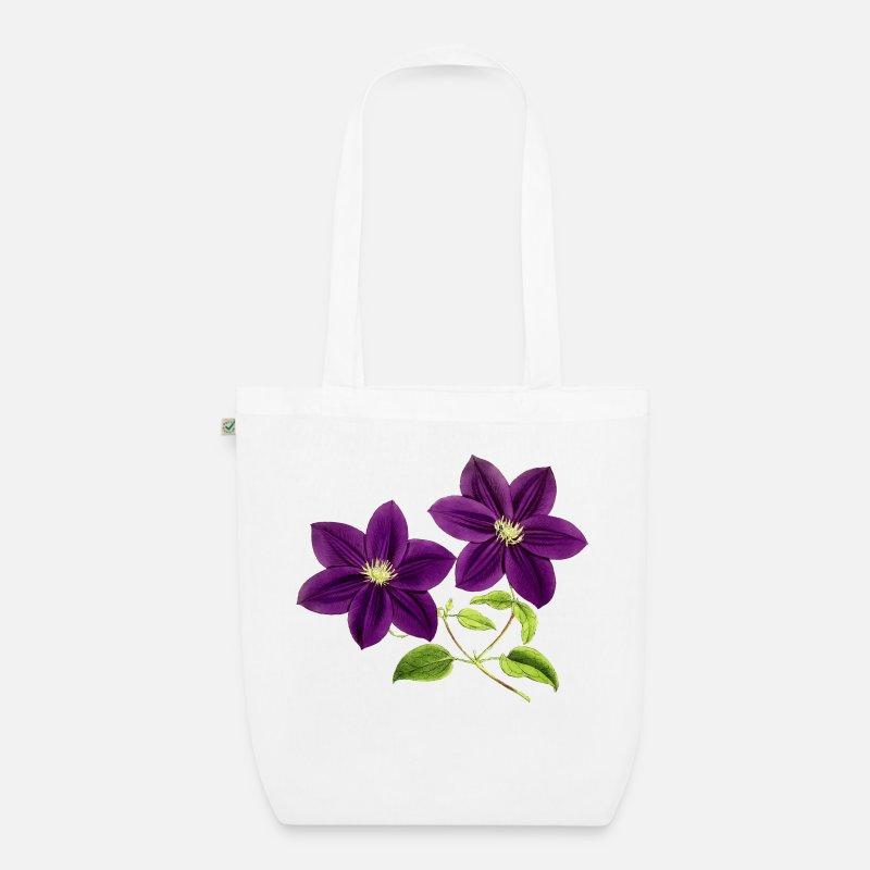 Veske med blomster | Julepynt, Lilla blomster, Produkter