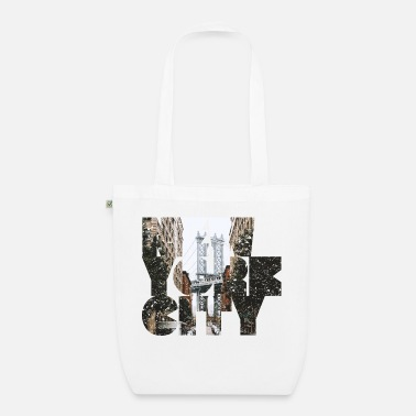 I Love Ny NEW YORK CITY - Sac en tissu bio