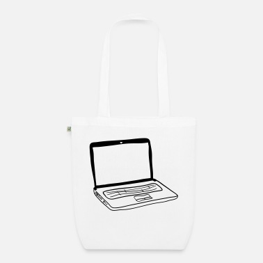 Laptop Laptop - Organic Tote Bag