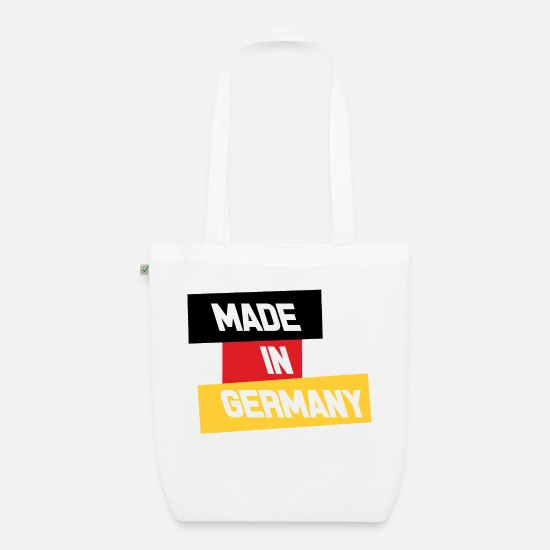 Country Bags & Backpacks - Made in Germany - Organic Tote Bag white