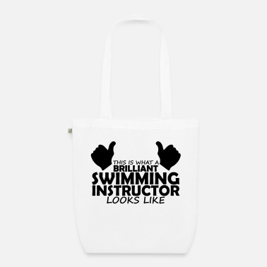 Swimming Instructor brilliant swimming instructor - Organic Tote Bag