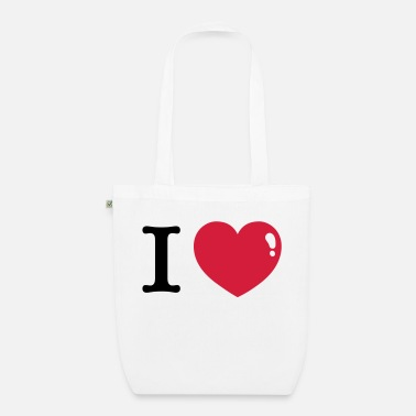 I Heart I love I Heart - Organic Tote Bag