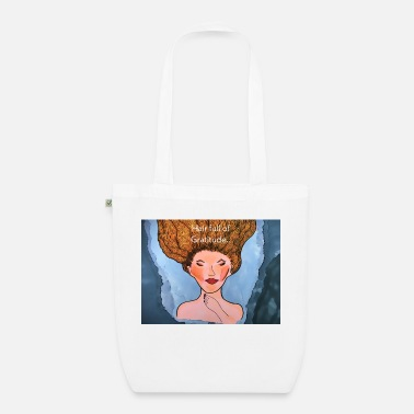 Hair Hair Full of Gratitude - Organic Tote Bag