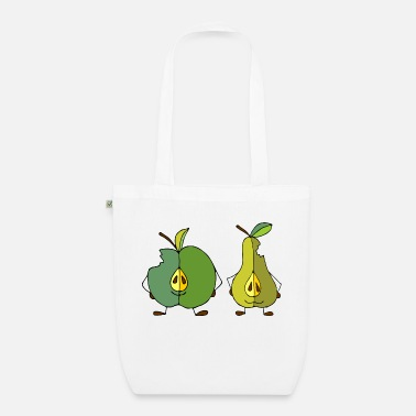 Fruit Apple and pear - Organic Tote Bag