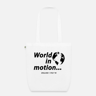 Motion WORLD IN MOTION - Organic Tote Bag
