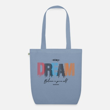 Running Stay Dream - Organic Tote Bag