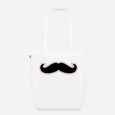 Cut Out Cut Out Mustache - Organic Tote Bag