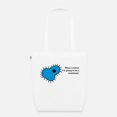 Creation Creationism - Organic Tote Bag