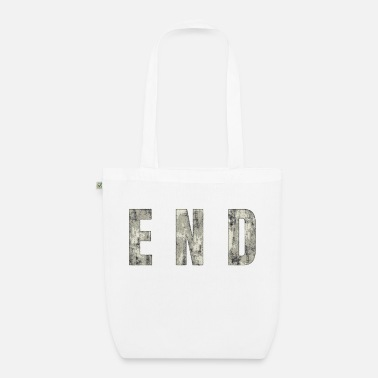 End END - The End - Organic Tote Bag