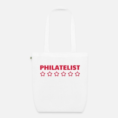 Philatelist Philatéliste Stamp Philatelie Philatelist Stempel - Organic Tote Bag