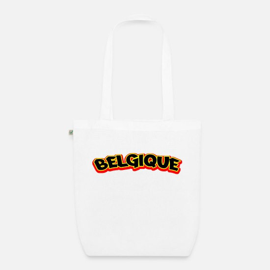 Other Whatever Drapeau Else Région Make Wallonien Bags & Backpacks - belgique belgium country - Organic Tote Bag white
