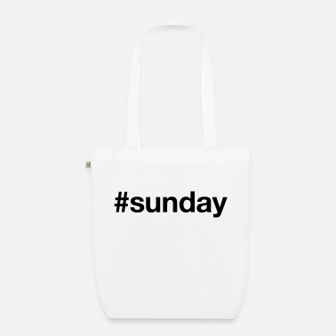Sunday SUNDAY - Organic Tote Bag