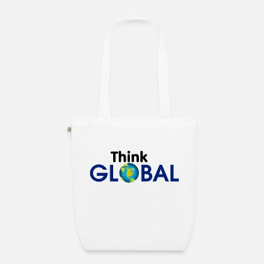 Global Think Global / global - Organic Tote Bag