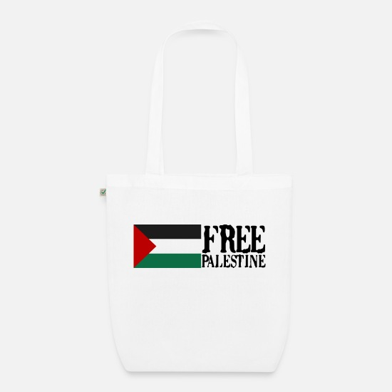 Freedom Fighters Bags & Backpacks - Free Palestine Gaza Gift freedom fight Sure - Organic Tote Bag white