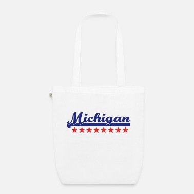 Michigan michigan - Borsa di stoffa ecologica