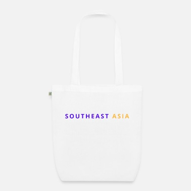 East Asia South East Asia - Organic Tote Bag