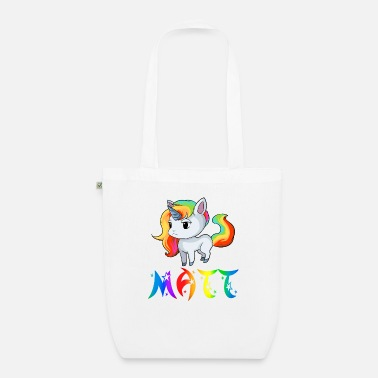 Matt Unicorn Matt - Organic Tote Bag