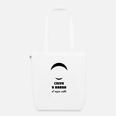 Barba Calva y barba gift idea hairstyle hair trend - Organic Tote Bag