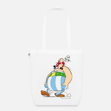 Asterix And Obelix Asterix & Obelix - Obelix is singing - Organic Tote Bag