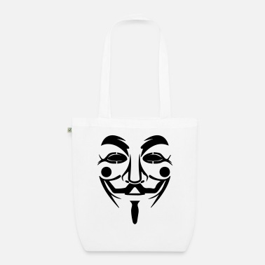 Guy Fawkes Guy Fawkes mask - Organic Tote Bag