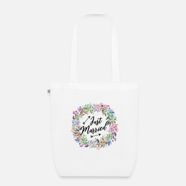 Just Married Just Married - just married! - Organic Tote Bag