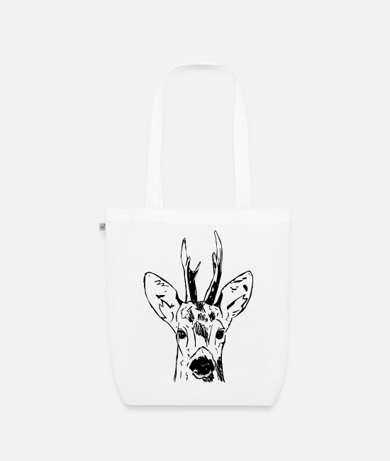Stag Bags & Backpacks - Ree - Organic Tote Bag white