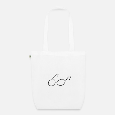 Glass glasses - Organic Tote Bag