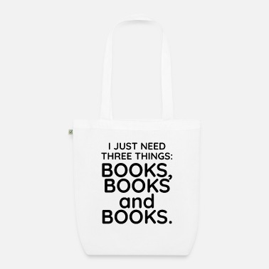 Book Books, books and books - Organic Tote Bag