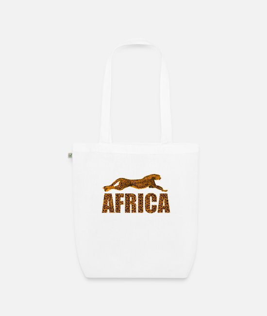 Wilderness Bags & Backpacks - Africa Leopard Africa Safari Wilderness South Africa - Organic Tote Bag white