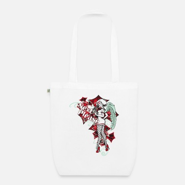 Pinup Next Please Pin Up Lady Nurse Angel - Organic Tote Bag