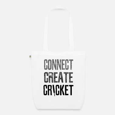 Fan Connect Create Cricket - Bio Stoffbeutel