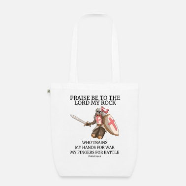Templar Knights Templar graphic Templar temple knight saying - Organic Tote Bag