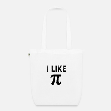 Cute I like pi - Organic Tote Bag