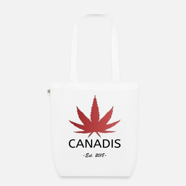 420 2018 Canadis Cannabis Legalization Canada 2018 - Organic Tote Bag