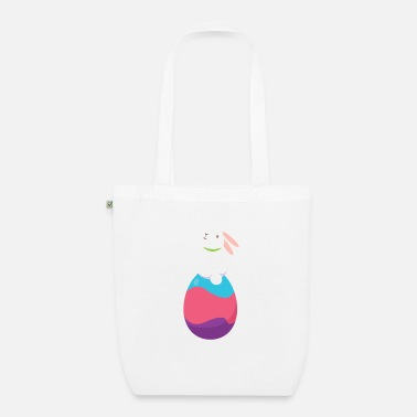 Sit Easter Sitting Rabbit - Organic Tote Bag