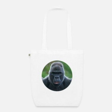 Msvrvisual The Silverback Gorilla - Organic Tote Bag