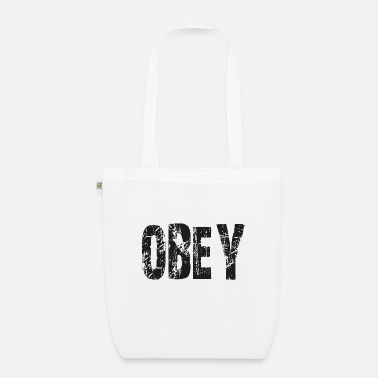 Obey Obey - Organic Tote Bag