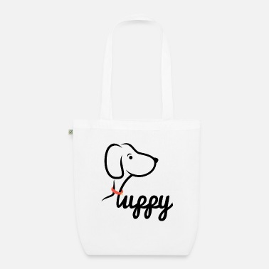 Puppies Puppy / dog / puppy - Organic Tote Bag