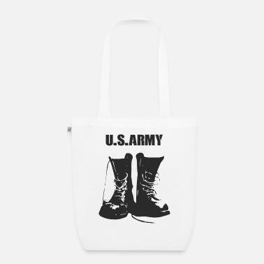 Militaire laarzen van het Amerikaanse leger Buttons klein   Spreadshirt
