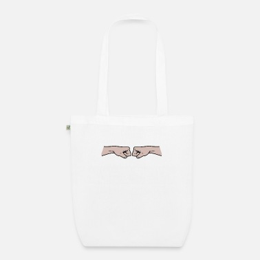 Fist Fist to fist - Organic Tote Bag