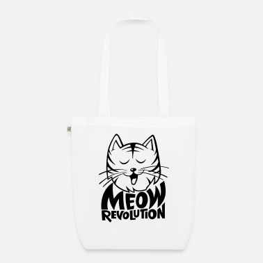 Meow Revolution - Organic Tote Bag