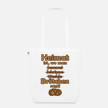East Germany Home Bread Rolls Northern Germany Saying Roots - Organic Tote Bag