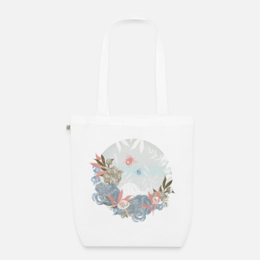 Vintage Meadow Circle - Organic Tote Bag
