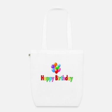 Specific Age happy Birthday - Organic Tote Bag