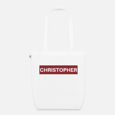 Christopher Christopher - Bio Stoffbeutel