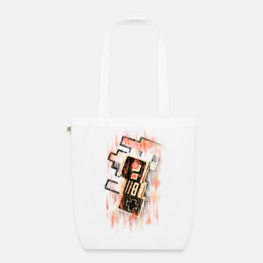 Geek Blurry NES - Organic Tote Bag