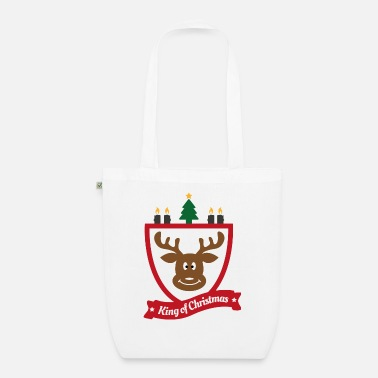 King of christmas Christmas Ugly sweater - Organic Tote Bag