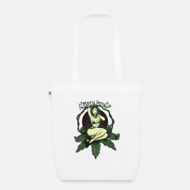 Mary Jane PINUP - Organic Tote Bag