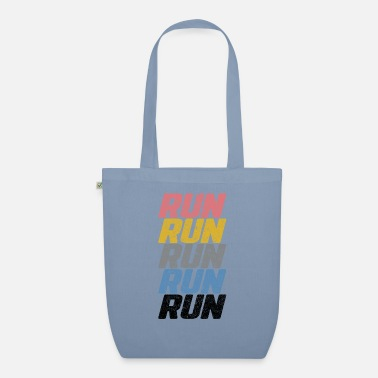 Running Run Run Run - Organic Tote Bag