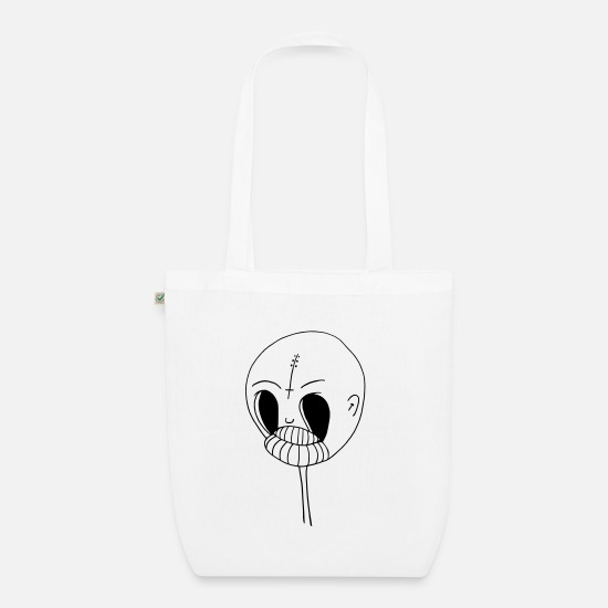 Magic Bags & Backpacks - Reduced head - Organic Tote Bag white